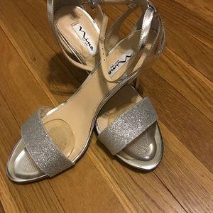Women's Heel by Nina Vondra Glitter Heel